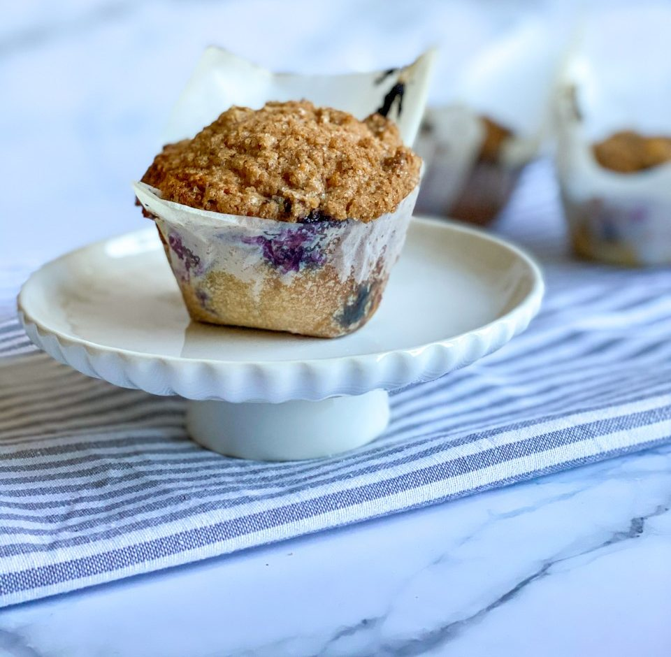 Grote blueberry muffins
