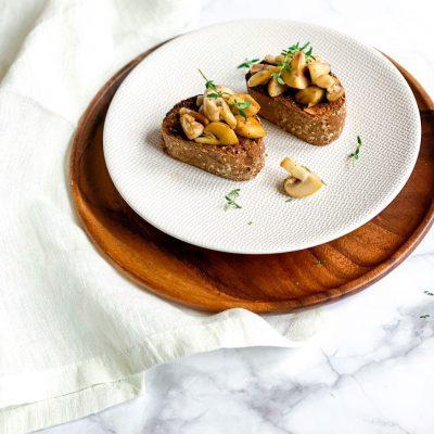 champignon bruschetta