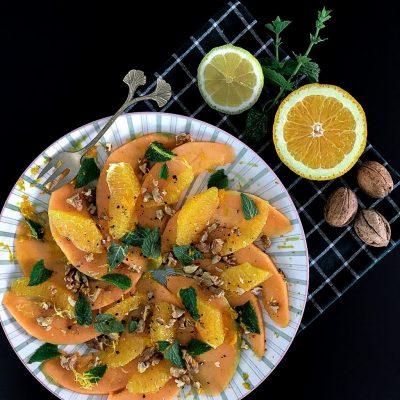 Sinaasappel salade