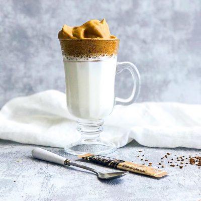 Dalgona koffie