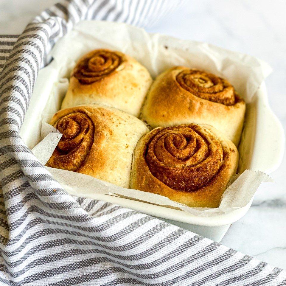 Amerikaanse cinnamon buns