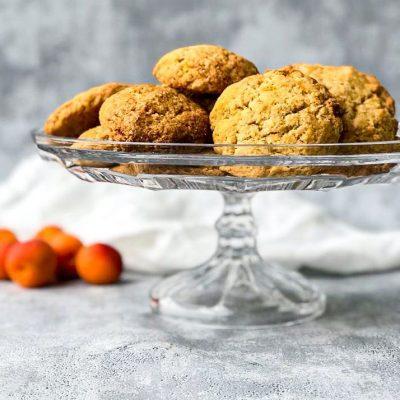 abrikozen gember koek