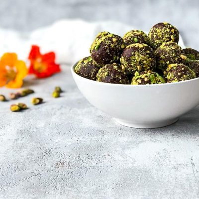 Chocolade bliss balls