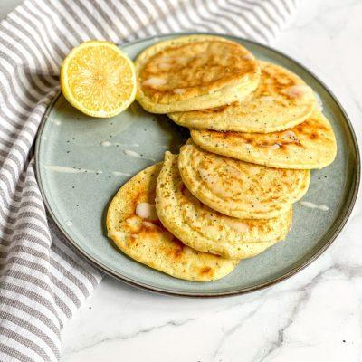 Citroen maanzaad pancakes