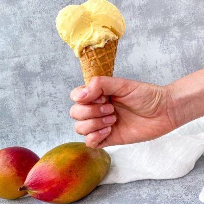 Mango ijs