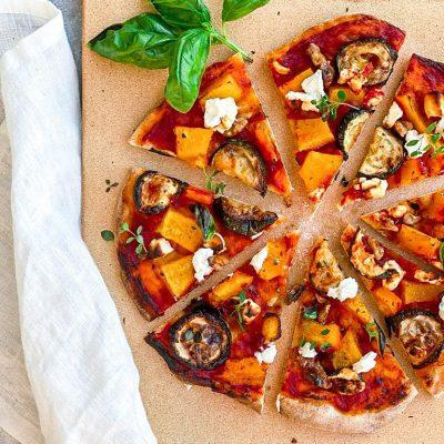 Pompoen pizza