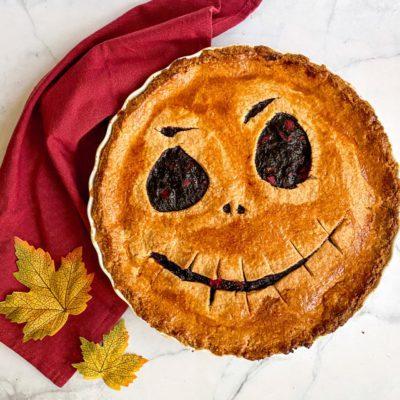 Halloween crostata