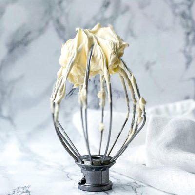 Italiaanse meringue botercreme