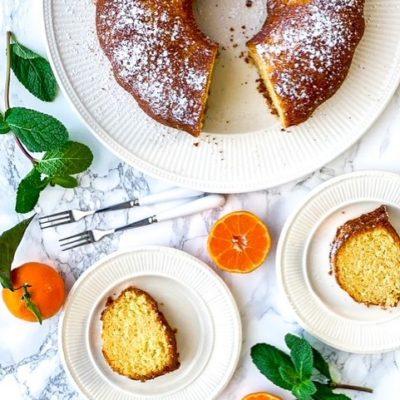 Mandarijnen cake