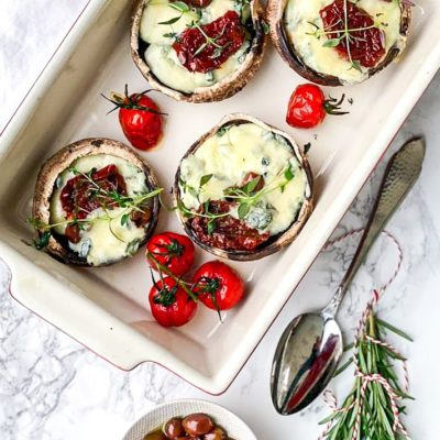 Italiaanse smaken portobello
