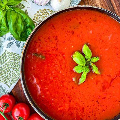Basis tomaten saus