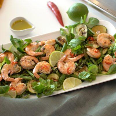 Gamba salade