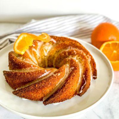 Sinaasappel maanzaad cake