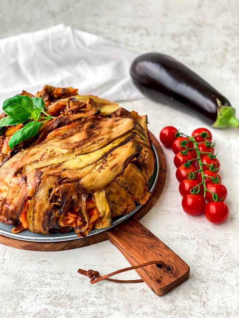 Timballo di melanzane- Italiaanse pastataart