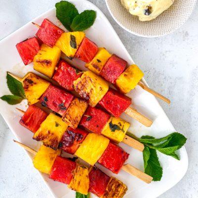 Fruit van de barbeque