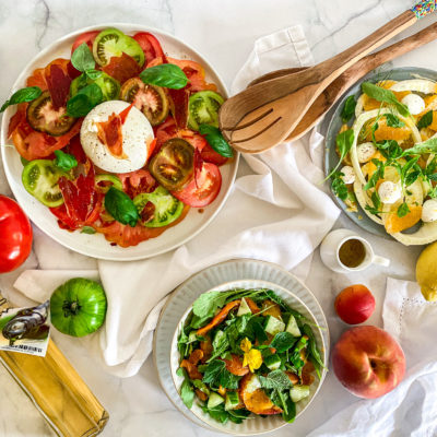 3x zomerse salades